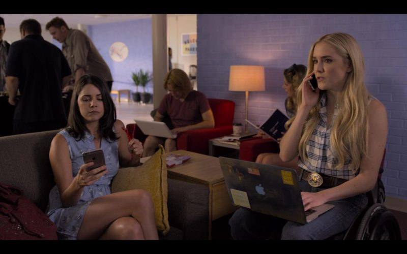 Apple iPhone Used by Ann Raleigh Cain and MacBook Laptop Used by Spencer Locke