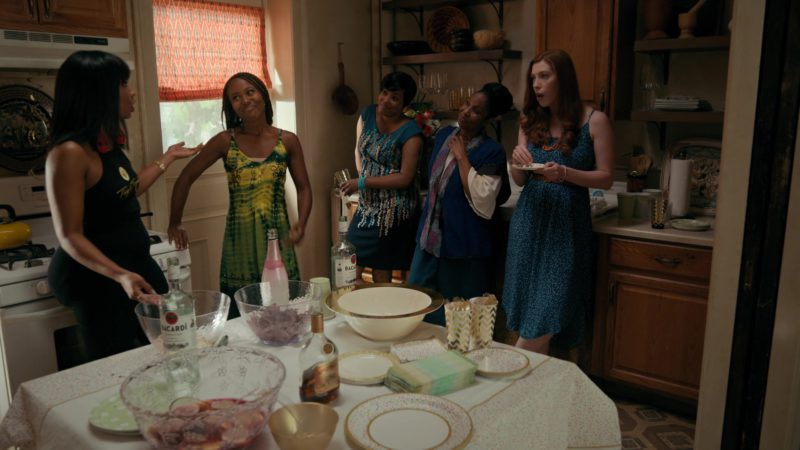 Appleton Estate and Bacardi Rums in She's Gotta Have It - Season 2, Episode 8, #OnTheComeUpTheComeDown&TheCome'Round (2019) - TV Show Product Placement