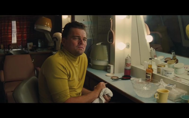 Aqua Net and Vitalis Hair Tonic in Once Upon a Time in Hollywood