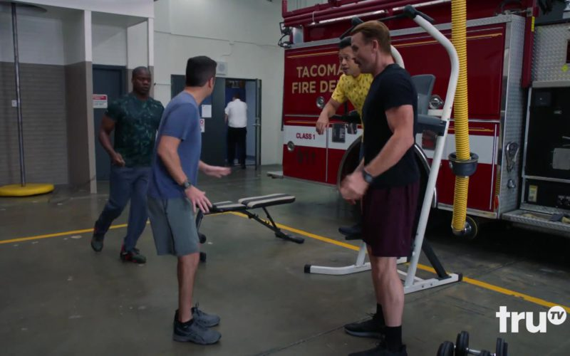 Asics Sneakers Worn by Steve Lemme in Tacoma FD