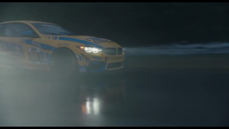 BMW Yellow Sports Car Used by Milo Ventimiglia in The Art of Racing in the Rain (2019) Movie Product Placement