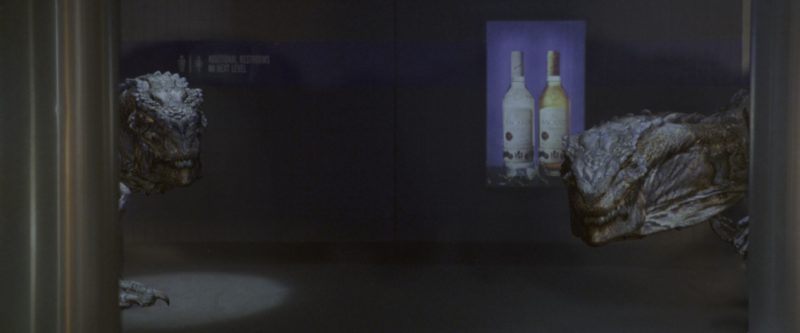 Bacardi Rums in Godzilla (1998) - Movie Product Placement