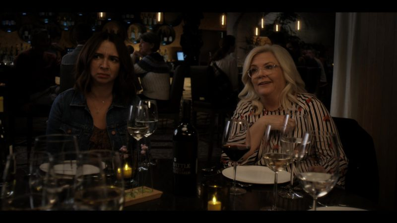 Battle Family Vineyards Wine in Wine Country (2019) - Movie Product Placement