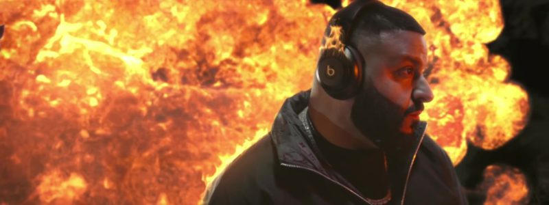 """Beats Headphones Worn by DJ Khaled in """"Celebrate"""" ft. Travis Scott, Post Malone (2019) - Official Music Video Product Placement"""