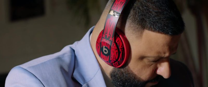 Beats Studio 3 Wireless  Headphones Custom Edition Worn by DJ Khaled in You Stay ft. Meek Mill, J Balvin, Lil Baby, Jeremih (2019) - Official Music Video Product Placement