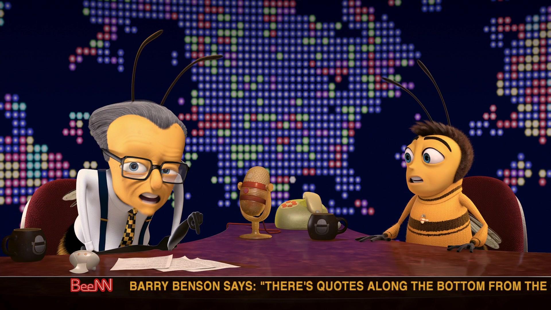 Beenn Cnn In Bee Movie 2007