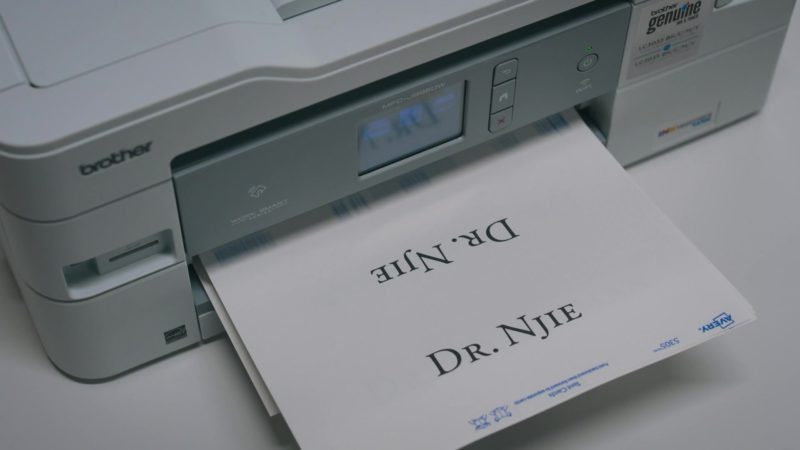 Brother Printer in Billions - Season 4, Episode 10, New Year's Day (2019) - TV Show Product Placement