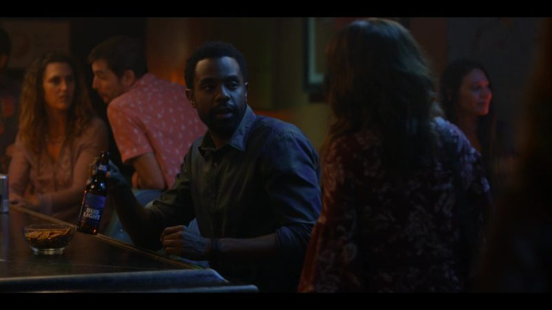 Bud Light Beer Drunk by Brandon Scott in Dead to Me - Season 1, Episode 5 (2019) - TV Show Product Placement
