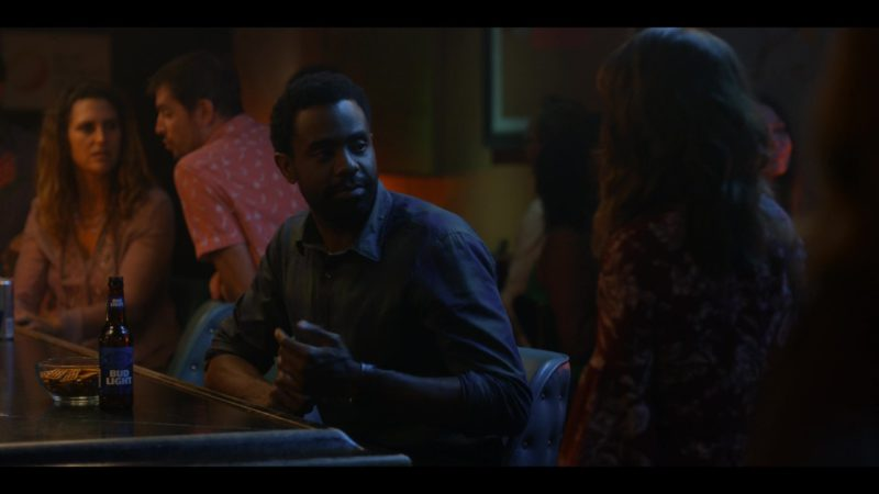 Bud Light Beer Drunk by Brandon Scott in Dead to Me - Season 1, Episode 5 (2019) TV Show Product Placement