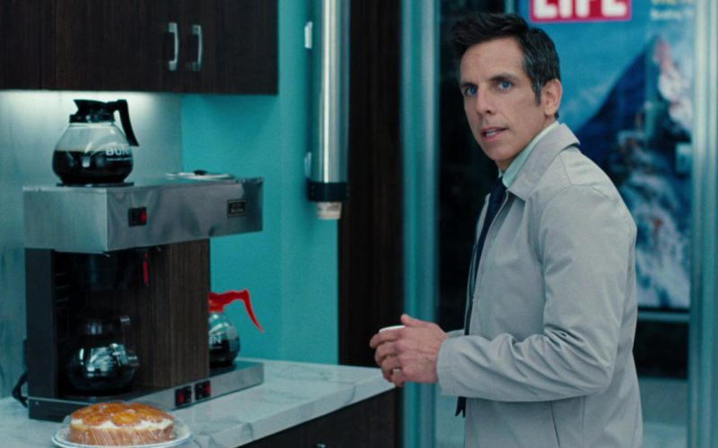 Bunn Coffee Machine Used by Ben Stiller in The Secret Life of Walter Mitty