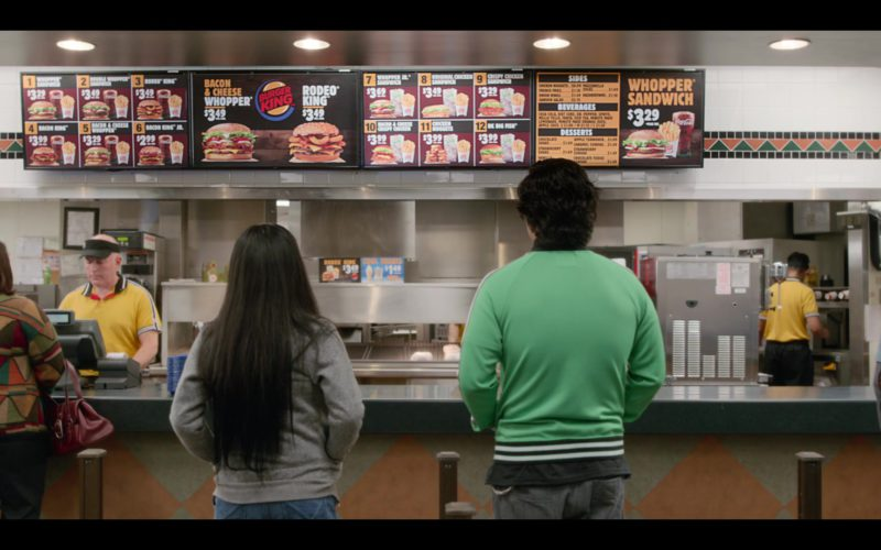 Burger King Fast Food Restaurant in Always Be My Maybe (1)