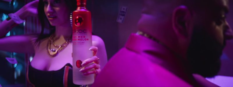 "Cîroc Summer Watermelon Vodka in ""Celebrate"" by DJ Khaled ft. Travis Scott, Post Malone (2019) - Official Music Video Product Placement"