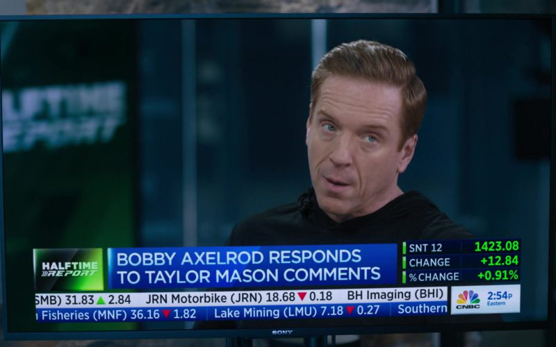 CNBC's Fast Money Halftime Report Starring Damian Lewis (Bobby Axelrod) & Sony TV in Billions (1)