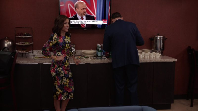 CNN TV Channel in Veep - Season 7, Episode 7 (2019) - TV Show Product Placement