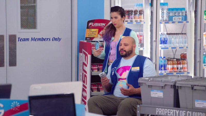 CORE Water and Rayovac Fusion Premium Alkaline Batteries in Superstore - Season 4, Episode 19, Scanners (2019) - TV Show Product Placement