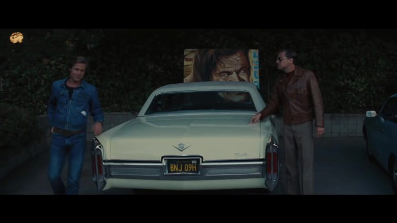 Cadillac Car in Once Upon a Time in Hollywood (2019) - Movie Product Placement