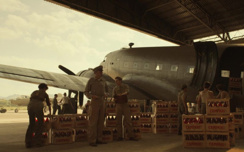 Campari Liqueur Boxes in Catch-22 (2)