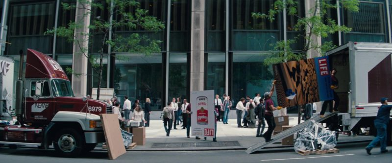 Campbell's Tomato Soup and Life Posters in The Secret Life of Walter Mitty (2013) Movie Product Placement
