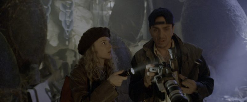 Canon Camera Used by Hank Azaria in Godzilla (1998) - Movie Product Placement