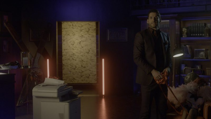 Canon Printer in Lucifer - Season 4, Episode 6, Orgy Pants to Work (2019) - TV Show Product Placement