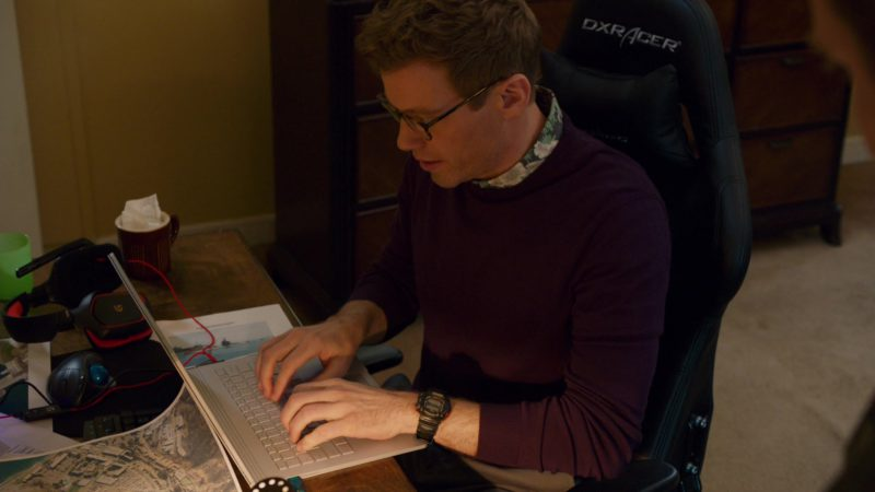 Casio G-Shock Watch Worn by Barrett Foa and DXRacer Gaming Chair in NCIS: Los Angeles - Season 10, Episode 23, The Guardian (2019) TV Show Product Placement