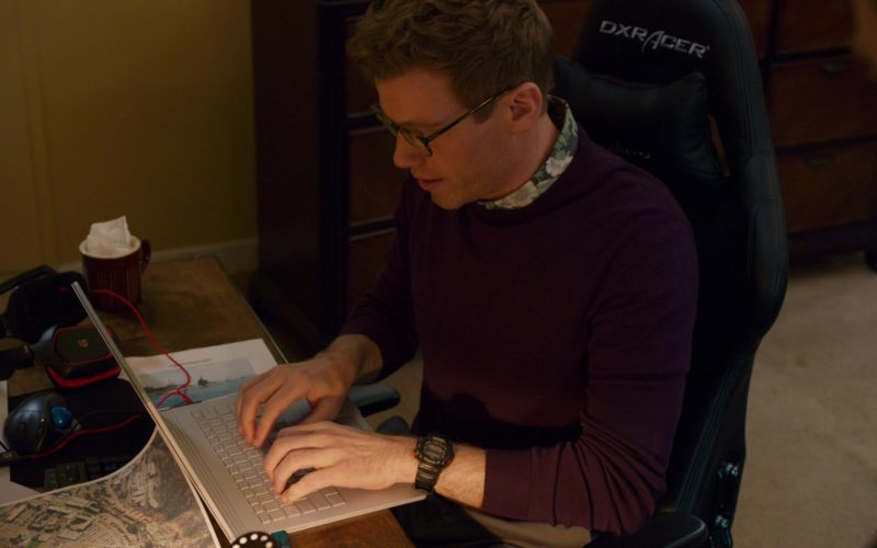 Casio G-Shock Watch Worn by Barrett Foa and DXRacer Gaming Chair in NCIS Los Angeles (1)