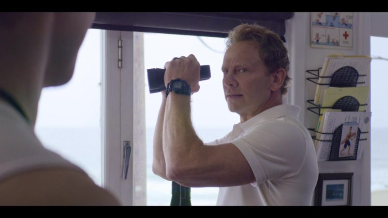 Casio G-Shock Wrist Watch Worn by Ian Ziering in Malibu Rescue (2019) Movie Product Placement