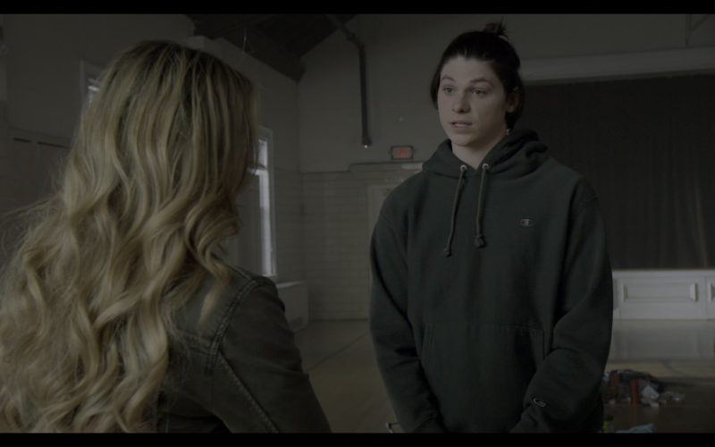 Champion Hoodie Worn by Jack Mulhern in The Society (2)