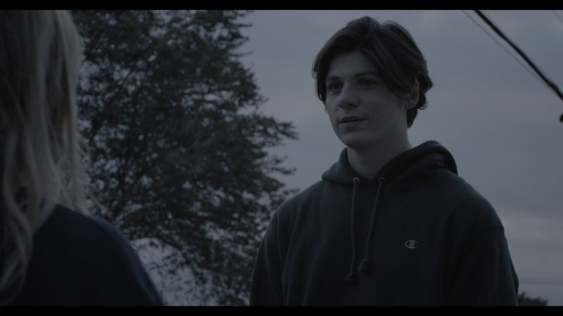 Champion Hoodie Worn by Jack Mulhern in The Society - Season 1, Episode 2, Our Town (2019) - TV Show Product Placement