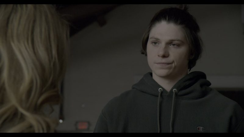 Champion Hoodie Worn by Jack Mulhern in The Society - Season 1, Episode 9, New Names (2019) TV Show Product Placement