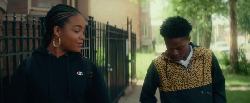 Champion Women's Hoodie in Beats (2019) Movie Product Placement