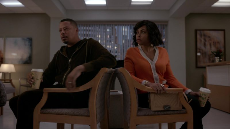 Chanel Handbag Used by Taraji P. Henson in Empire - Season 5, Episode 18, The Roughest Day (2019) TV Show Product Placement