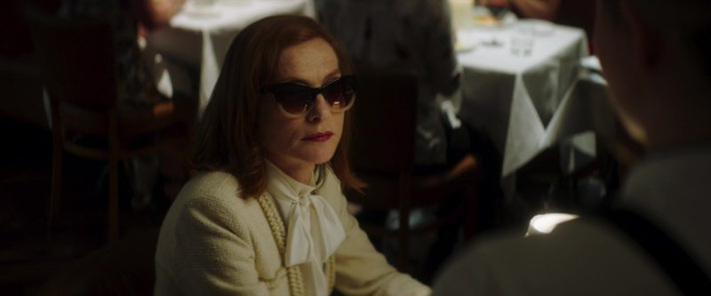 Chanel Sunglasses Worn by Isabelle Huppert in Greta (2018) Movie Product Placement
