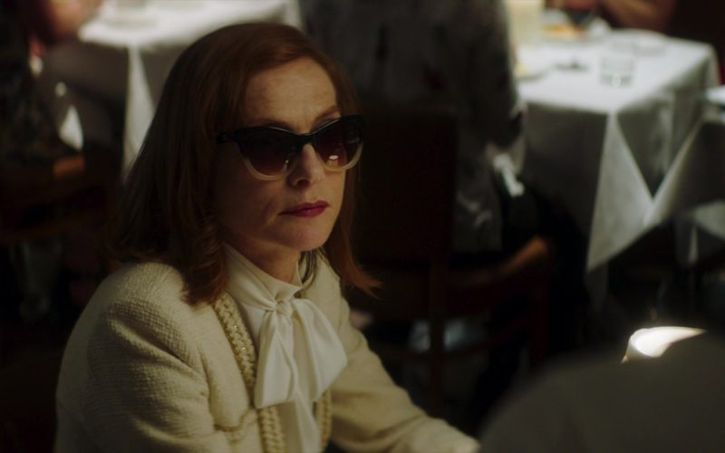 Chanel Sunglasses Worn by Isabelle Huppert in Greta