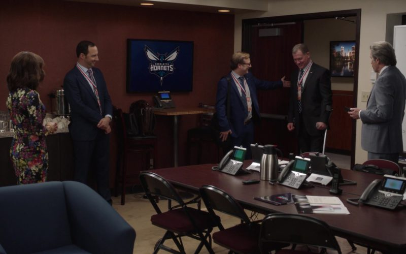 Charlotte Hornets Basketball Team in Veep (1)