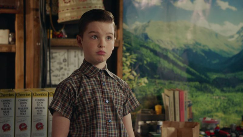 Cheerios Breakfast Cereals in Young Sheldon - Season 2, Episode 22, A Swedish Science Thing and the Equation for Toast (2019) - TV Show Product Placement
