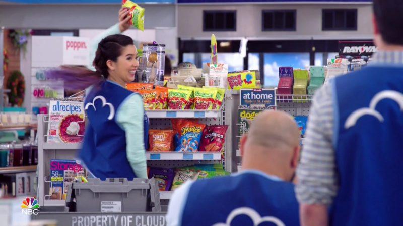 Cheetos, Sun Chips, Doritos in Superstore - Season 4, Episode 19, Scanners (2019) TV Show