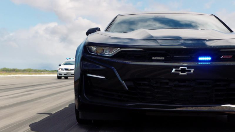 Chevrolet Camaro SS Black Car Used by Alex O'Loughlin in Hawaii Five-0 - Season 9, Episode 25 (2019) TV Show Product Placement