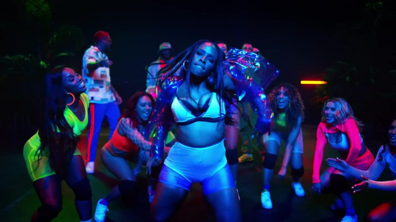 "PrettyLittleThing Bra in ""Wobble Up"" by Chris Brown ft. Nicki Minaj, G-Eazy (2019) - Official Music Video Product Placement"