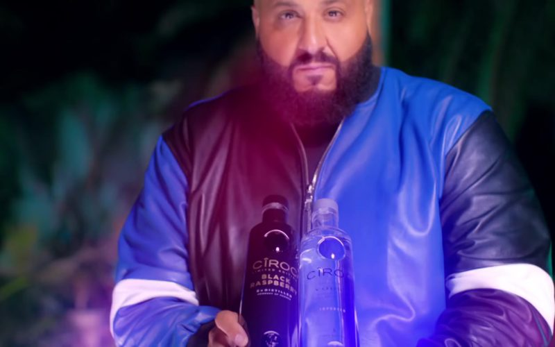 Ciroc Vodka Bottles in Jealous by DJ Khaled ft. Chris Brown, Lil Wayne, Big Sean (3)