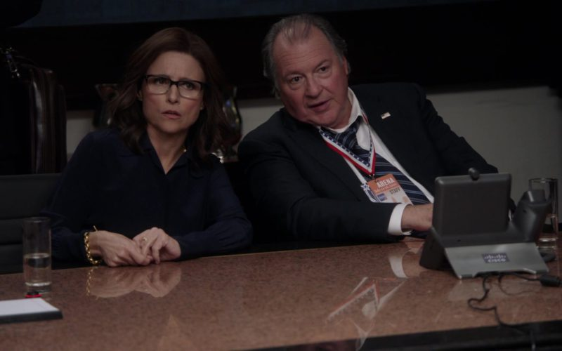 Cisco IP Video Phones in Veep – Season 7, Episode 7 (3)