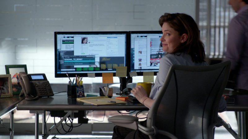 Cisco Phone in Bull - Season 3, Episode 22, Pillar of Salt (2019) - TV Show Product Placement