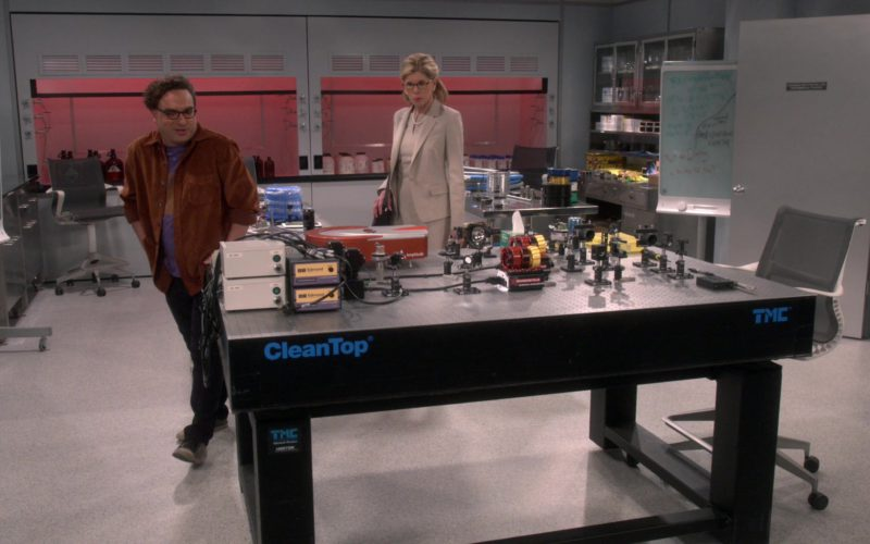 CleanTop TMC Table in The Big Bang Theory
