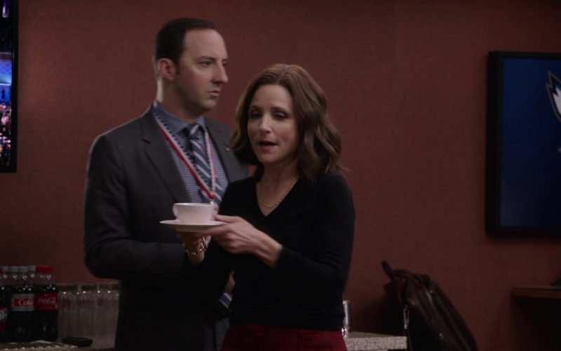 Coca-Cola, Sprite and Dr Pepper in Veep