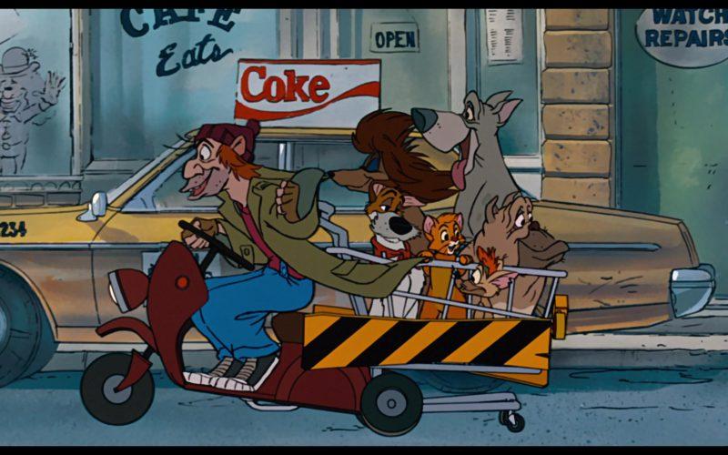 Coca-Cola in Oliver & Company (3)
