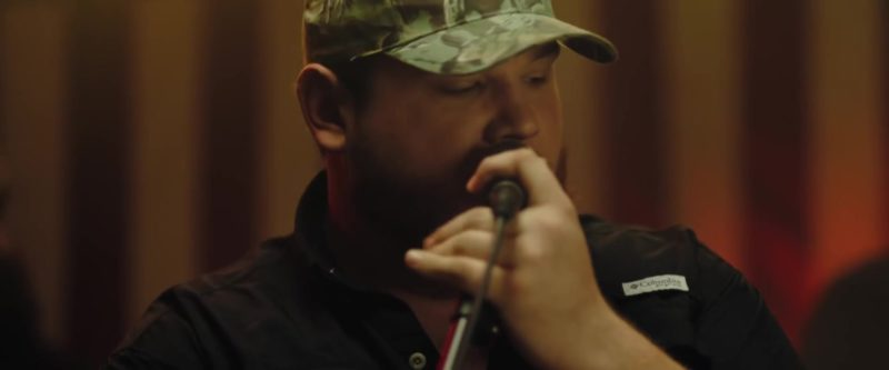 Columbia Shirt Worn by Luke Combs in Beer Never Broke My Heart (2019) - Official Music Video Product Placement