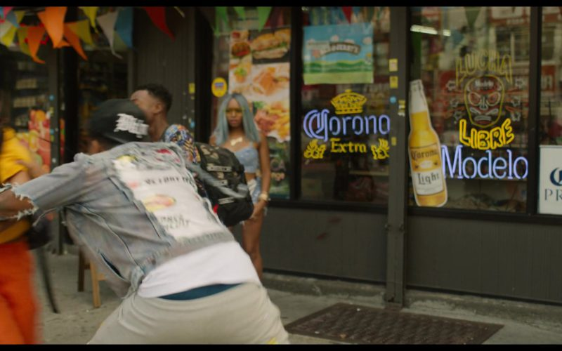 Corona and Modelo Beer Signs in See You Yesterday