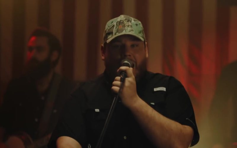 Coyote Joe's Nightclub Cap Worn by Luke Combs in Beer Never Broke My Heart