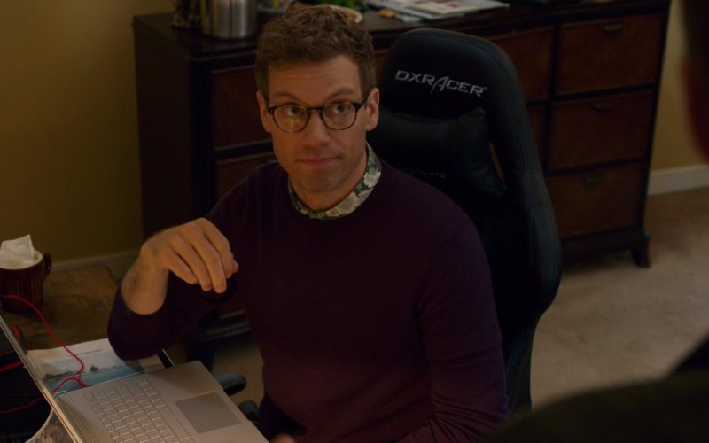 DXRacer Gaming Chair Used by Barrett Foa in NCIS Los Angeles (4)