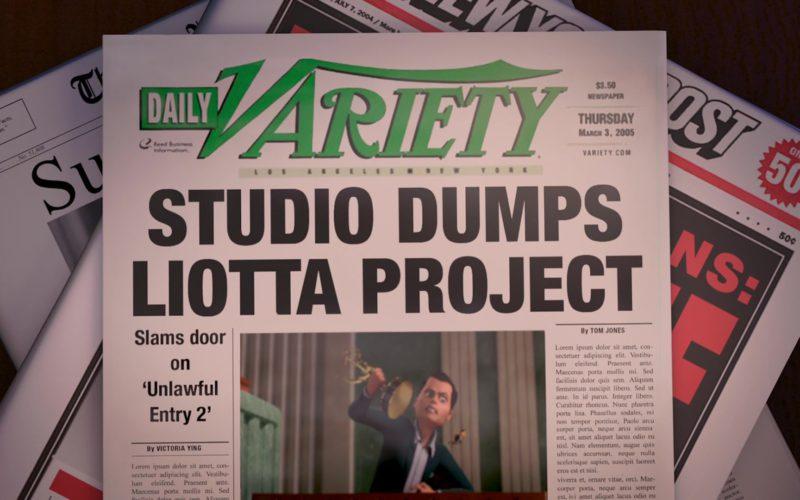 Daily Variety Newspaper in Bee Movie